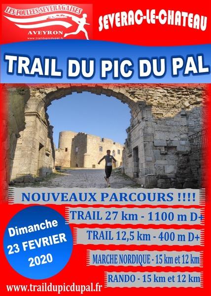 affiche Trail du PIC DU PAL